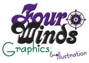Four Winds Graphics Logo